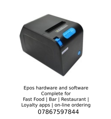 Thermal 80mm printer FAST  with bar codes