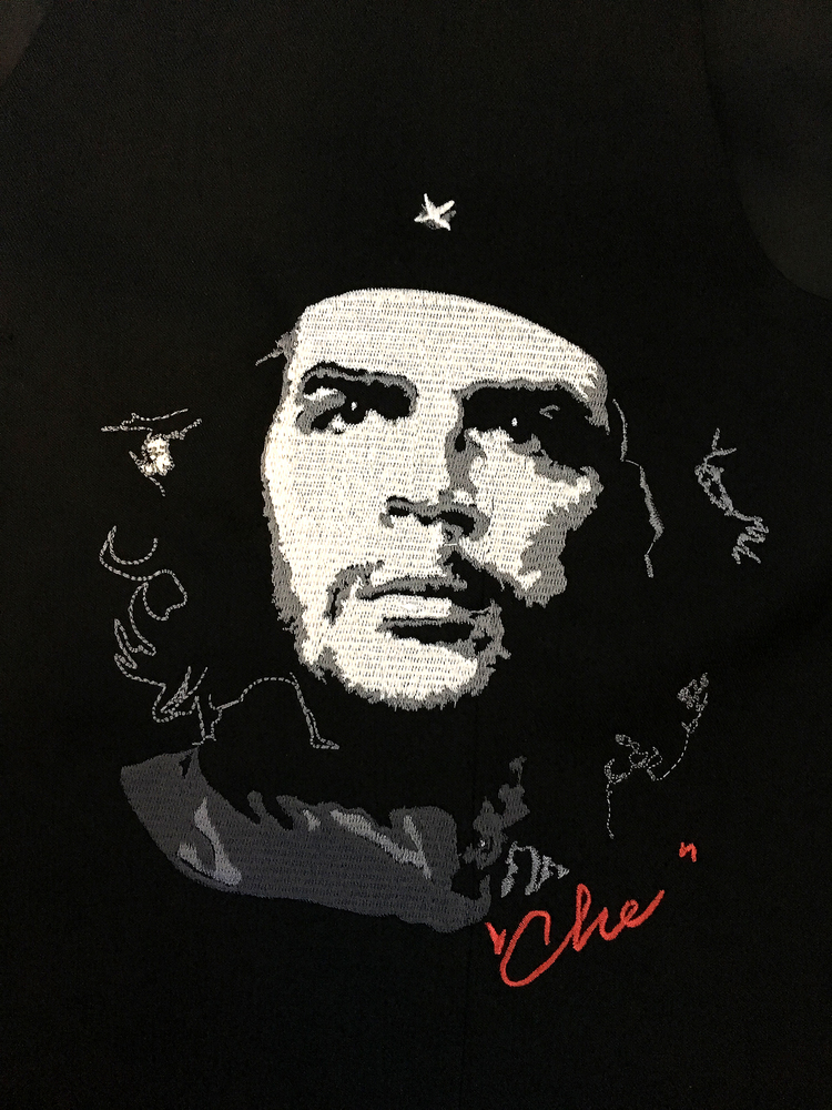 Che Guevara Portrait - Digitized Embroidery Pattern