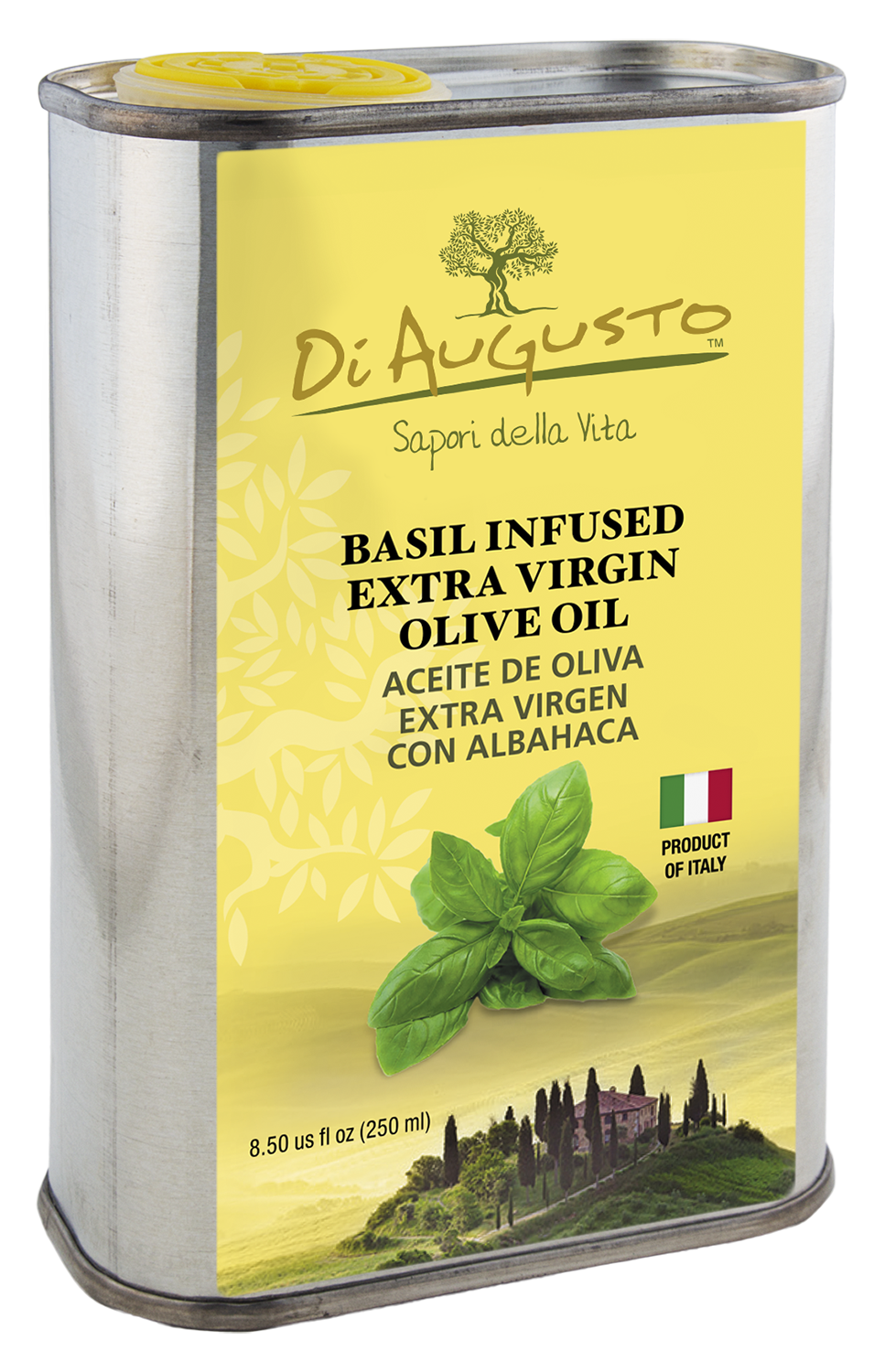 Frantoio Augusto Infused Oil - Basil 0116