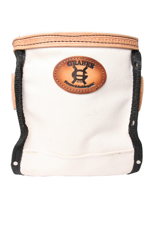 """Graber Leather/ Canvas """"Apprendise Bolt Bag"""""""