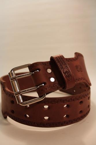 3 Inch Graber Leather Bull Belt - Deluxe