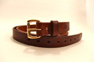 1.25 inch Graber  Leather Bullhide Belt
