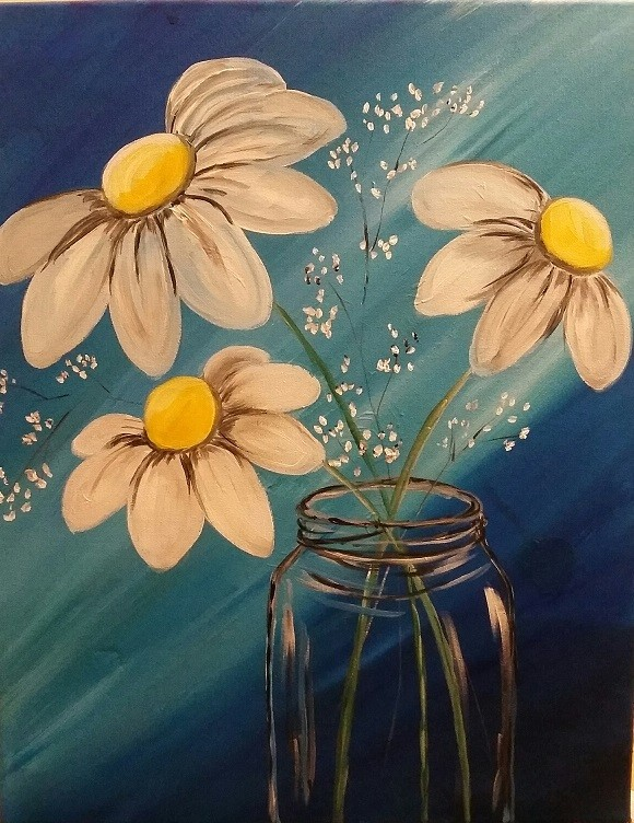 Paint pARTy at Bean Bar, March 22nd 6-9pm