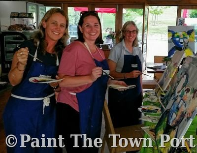 Private Paint pARTy at Port Pacific Resort, Sat 14th Sep, 3:10-4:10pm