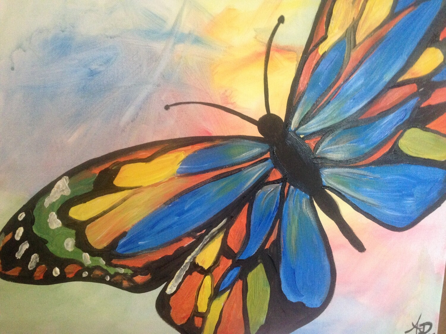 Paint pARTy at Beachstone Bar & Cafe, Sat 6th July, 4-6pm