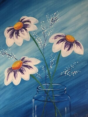 Paint pARTy at Beechwood Cafe, Sat 3rd August, 1-3:30pm