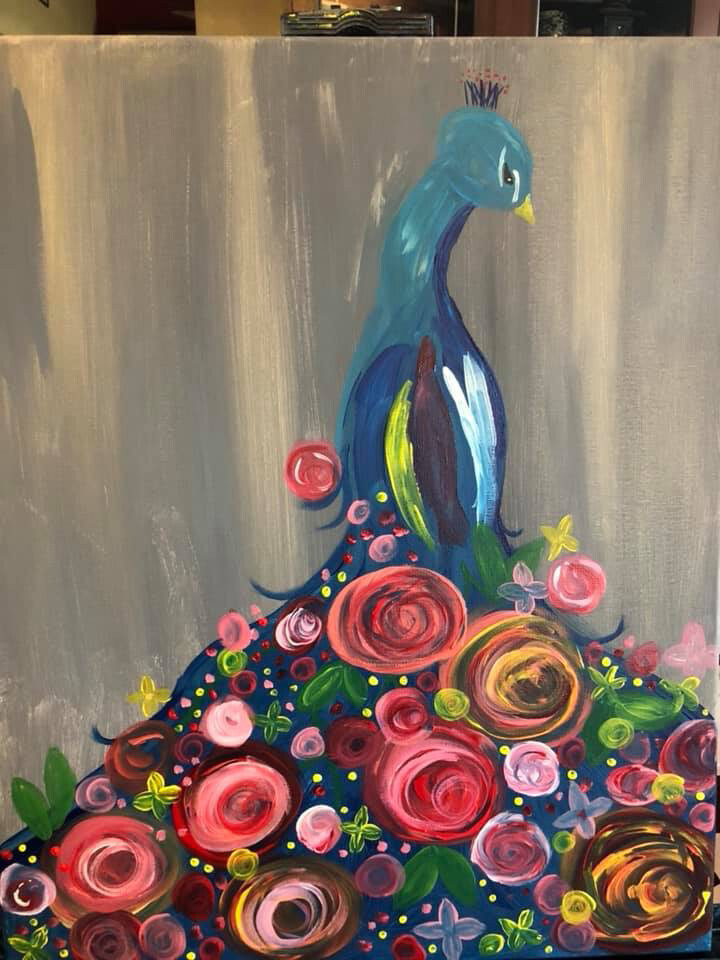 Paint pARTy at MOMO, Wednesday June 26th 6-9pm