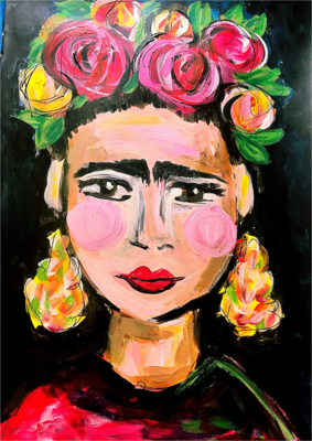 Frida Kahlo Paint pARTy at The Seed CW, Sat 27th July, 6-8:30pm