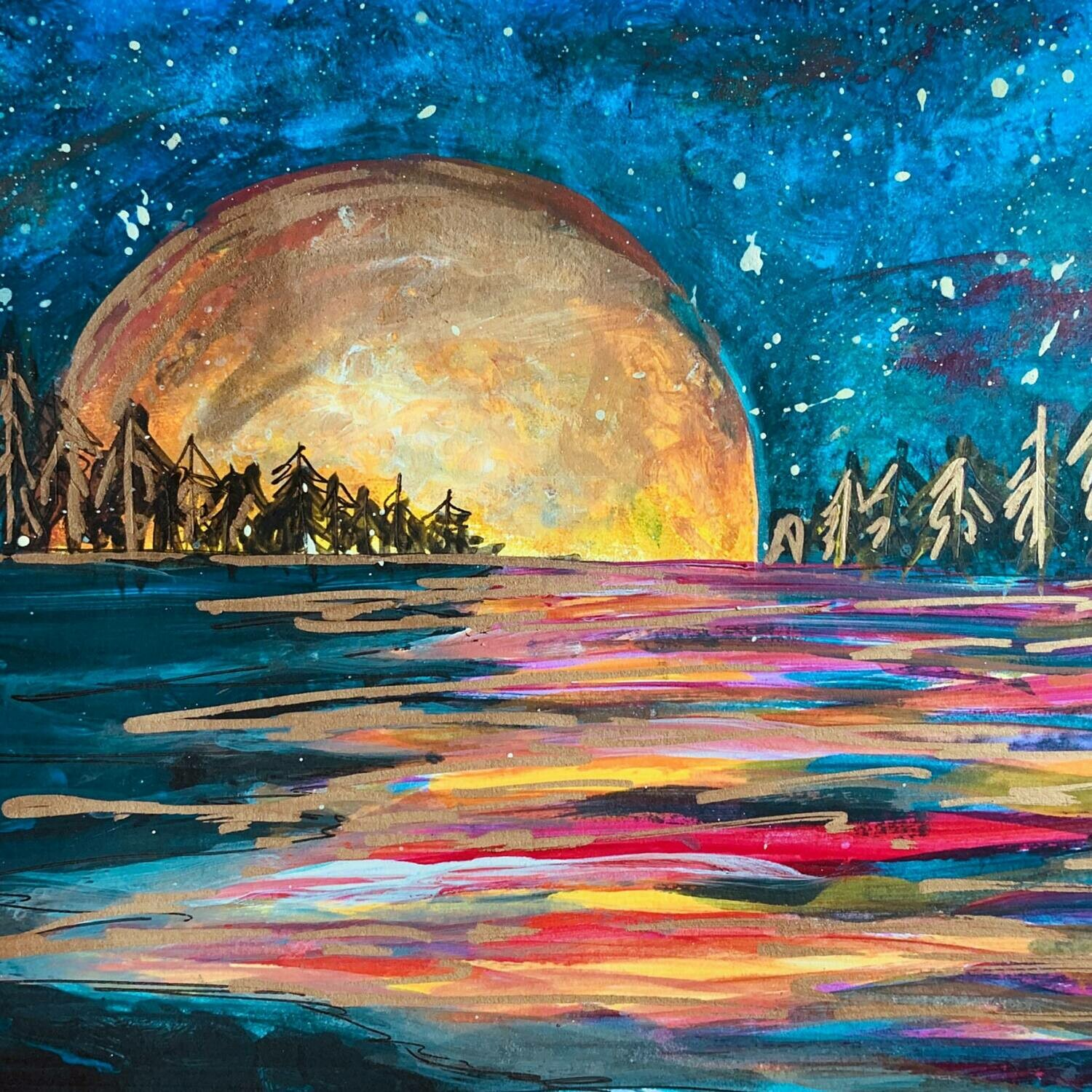 Paint pARTy at MOMO, Wednesday Aug 28th 6-9pm
