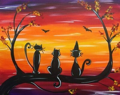 Paint pARTy at MOMO, Wednesday October 30th 6-9pm
