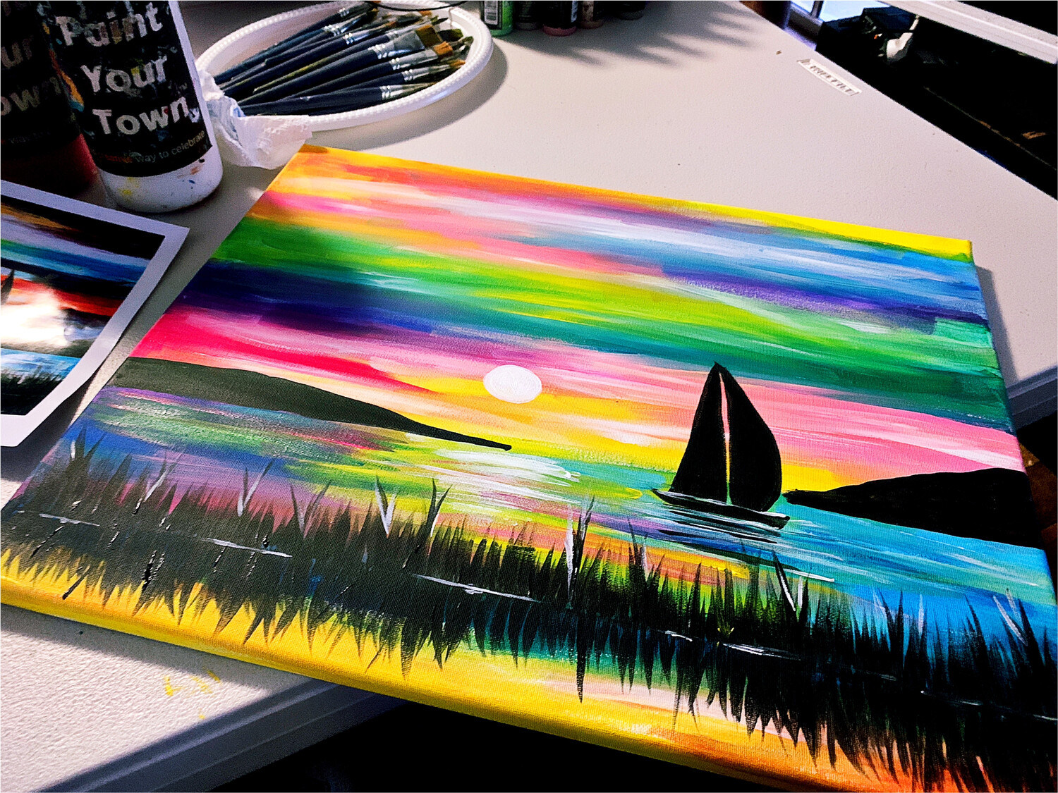 Paint pARTy at Sydney Junction Hotel, Tues Sept 10th, 6-8:30pm
