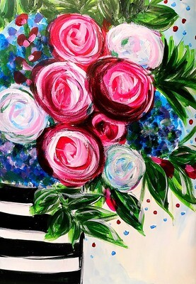 Paint pARTy at Beechwood Cafe, 2nd November, 1-3:30pm