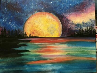 Paint pARTy at Greedy Goat Friday October 11th 6pm