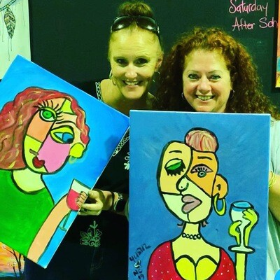 Paint Your Mate at The Seed Creative Workshops, Fri 29th Nov 7pm