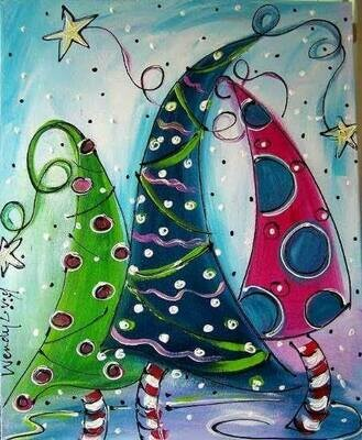 Paint pARTy at Hallidays Point Tavern 15th December 4pm