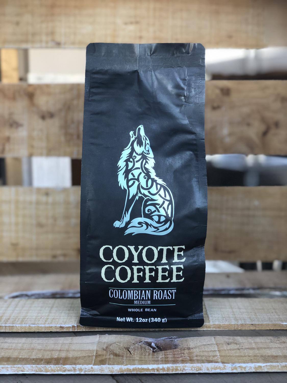 Coyote Coffee Espresso Roast 12oz Whole Bean