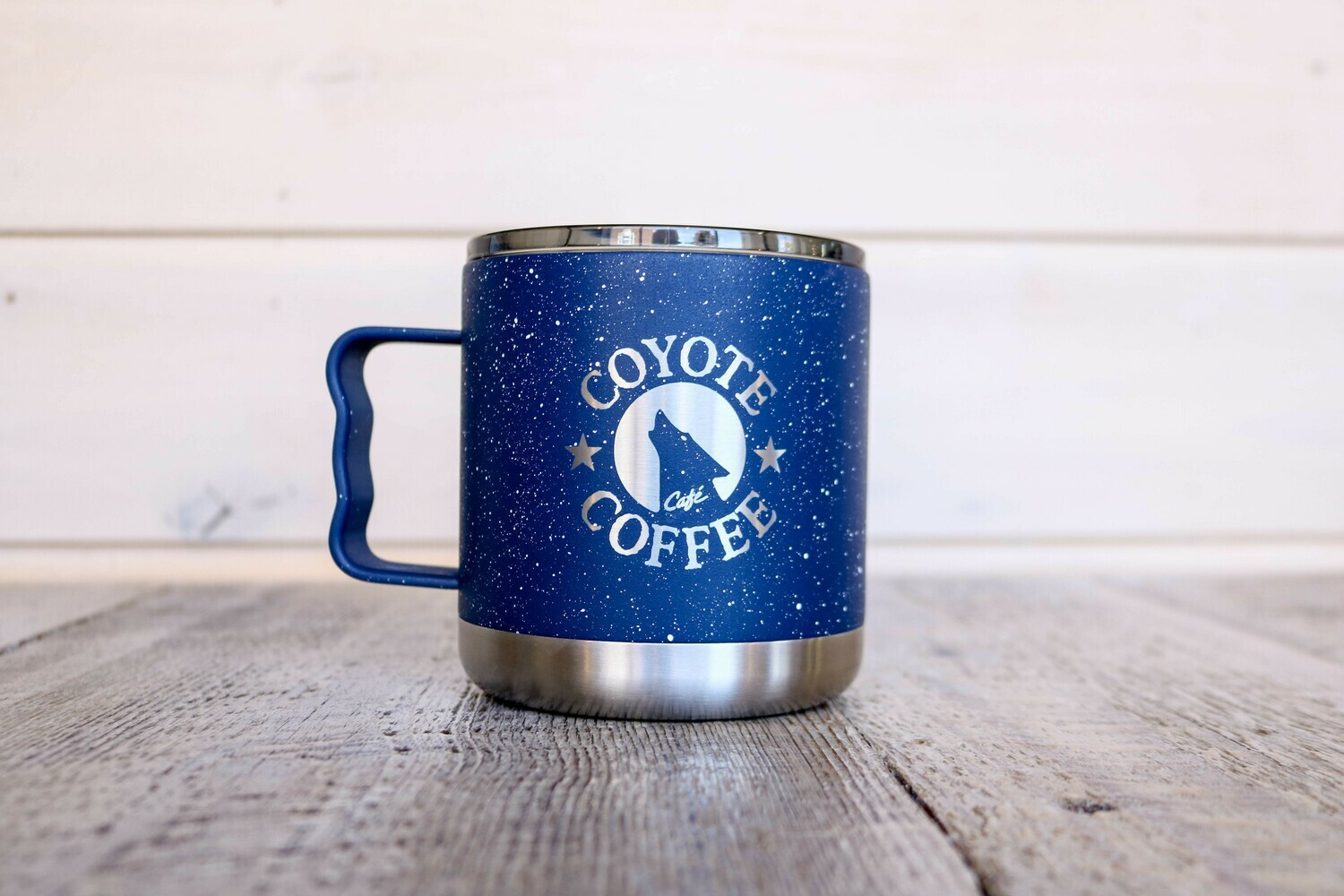 15 oz Navy with Speckles