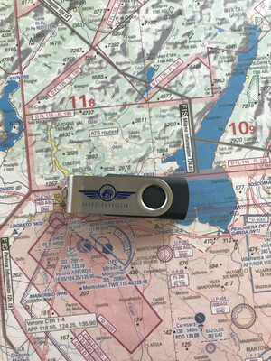 "Chiavetta USB 8Gb ""Aeroclub Brescia"""