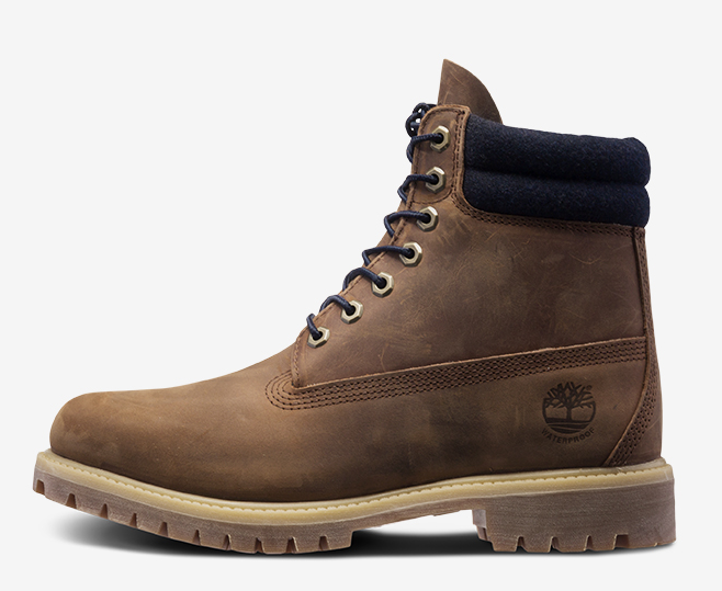 Dark Brown  6 inch Timberland Boot