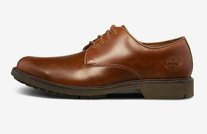 Brown Timberland Formal Shoes