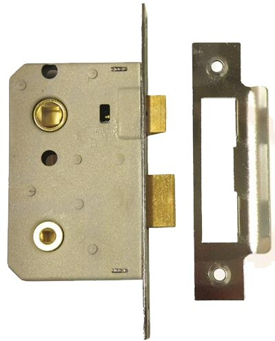 Era 243 32 64mm 2 5 Quot Bathroom Lock Polished Brass
