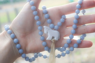 Custom Mustang Mala in Honor of your Heart Horse - Deposit