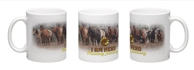 I AM HERD Coffee Cup