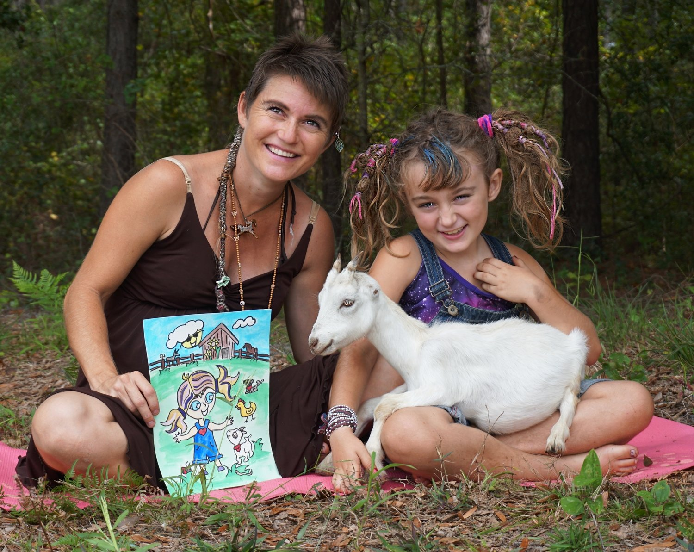 'Delilah The Yoga Goat' - Soft Cover