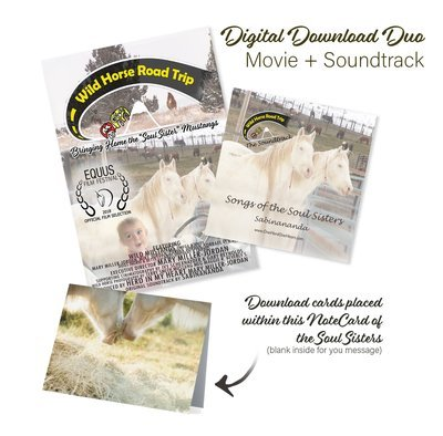 Movie & Soundtrack Digital Download Duo PLUS NOTECARD
