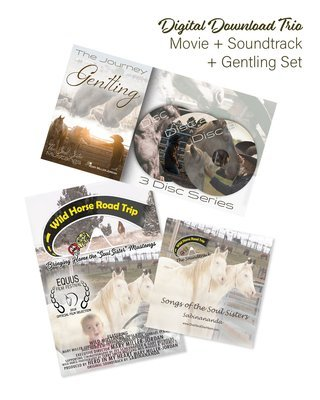 DIGITAL ORDER of the Digital Download Trio ~ GENTLING 3 Disc Set + MOVIE + SOUNDTRACK