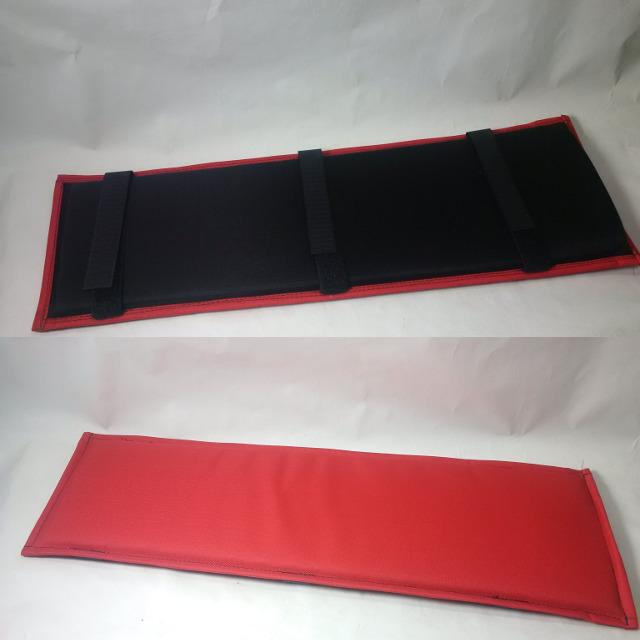 "HaD Whoopee cushion- Red full length rear rack 1/2"" foam 19127"