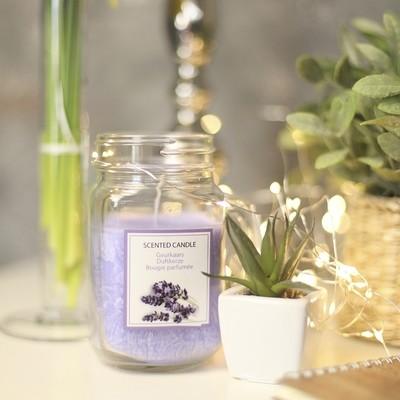 Свеча в стеклянной кружке Jar (лаванда) IMP_25_LAV