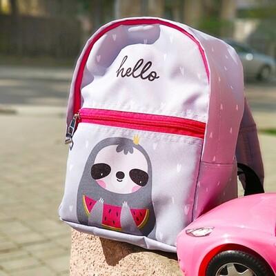 Рюкзак детский Light Hello (ленивец) RDL_20A009_ROZ