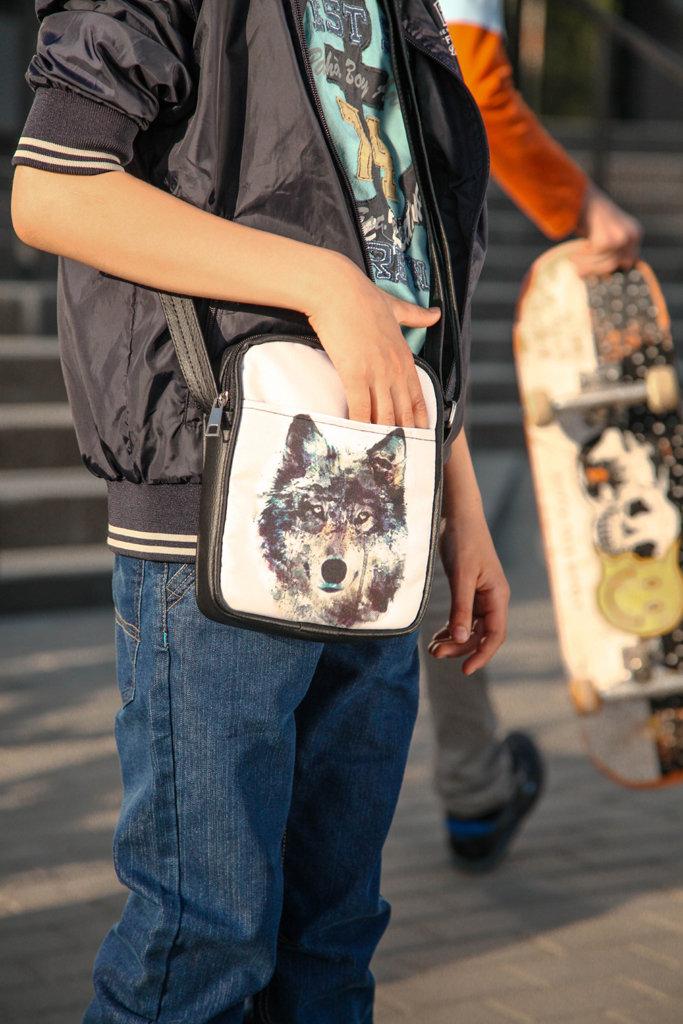 Сумка для подростков Junior boy Волк