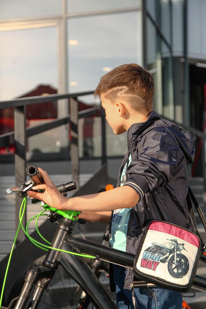 Сумка для подростков Junior boy Мотоцикл