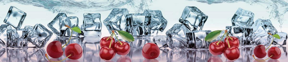 стеновая панель для кухни со льдом фото это ягода