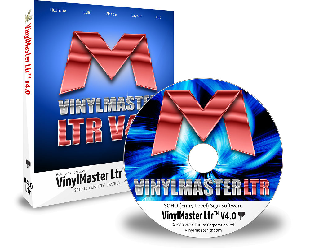 VinylMaster Software – V4 Letter Edition LTR VM-V4-LTR Crossgrade