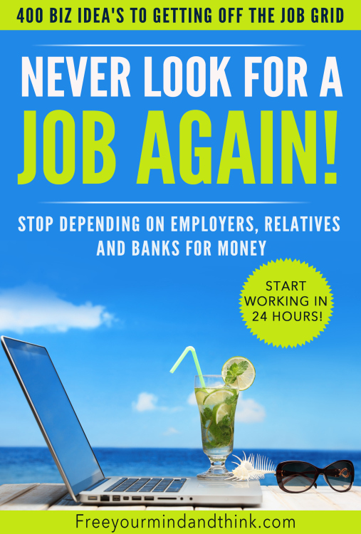 $3 | NEVER LOOK FOR A JOB AGAIN! | $3 will be donated to housing the homeless!