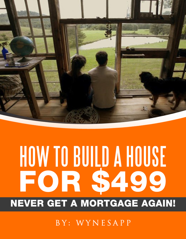 $9.95 | How to Build a Cool House for $499 (Best Seller)