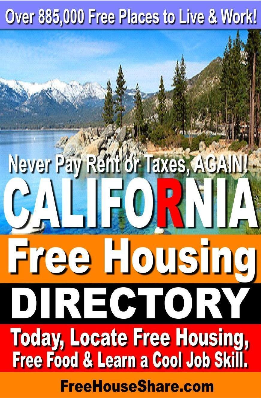 $5 | California Free Housing & Cash Jobs Directory (2019-2020) (Over 3 Million Views!)  (Locate Free Housing today!)