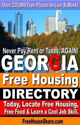 Georgia Free Housing & Cash Jobs Directory (2018- 2019) Over 3.6 Million Views. (Find Free Housing Today!)