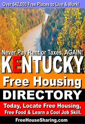 Kentucky Free Housing & Cash Jobs Directory (2018- 2019) (Over 2.8 Million Views!)