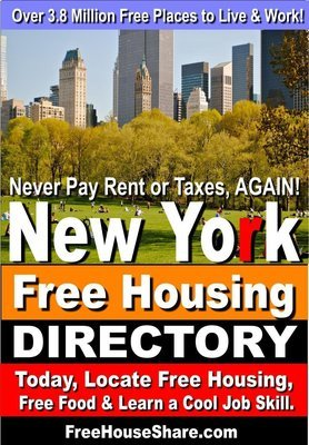 $5 | New York Free Housing & Cash Jobs Directory (2019- 2020) Over 6 Million Views. (Locate Free Housing Today!)