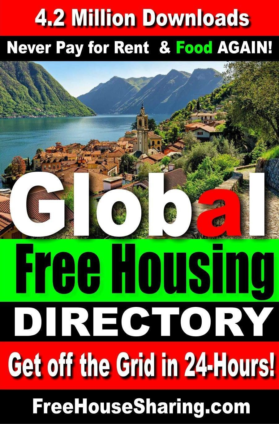 Global Free Housing & Cash Jobs Directory (2018- 2019) Over 4.3 Million Views. (Find Free Housing Today!)