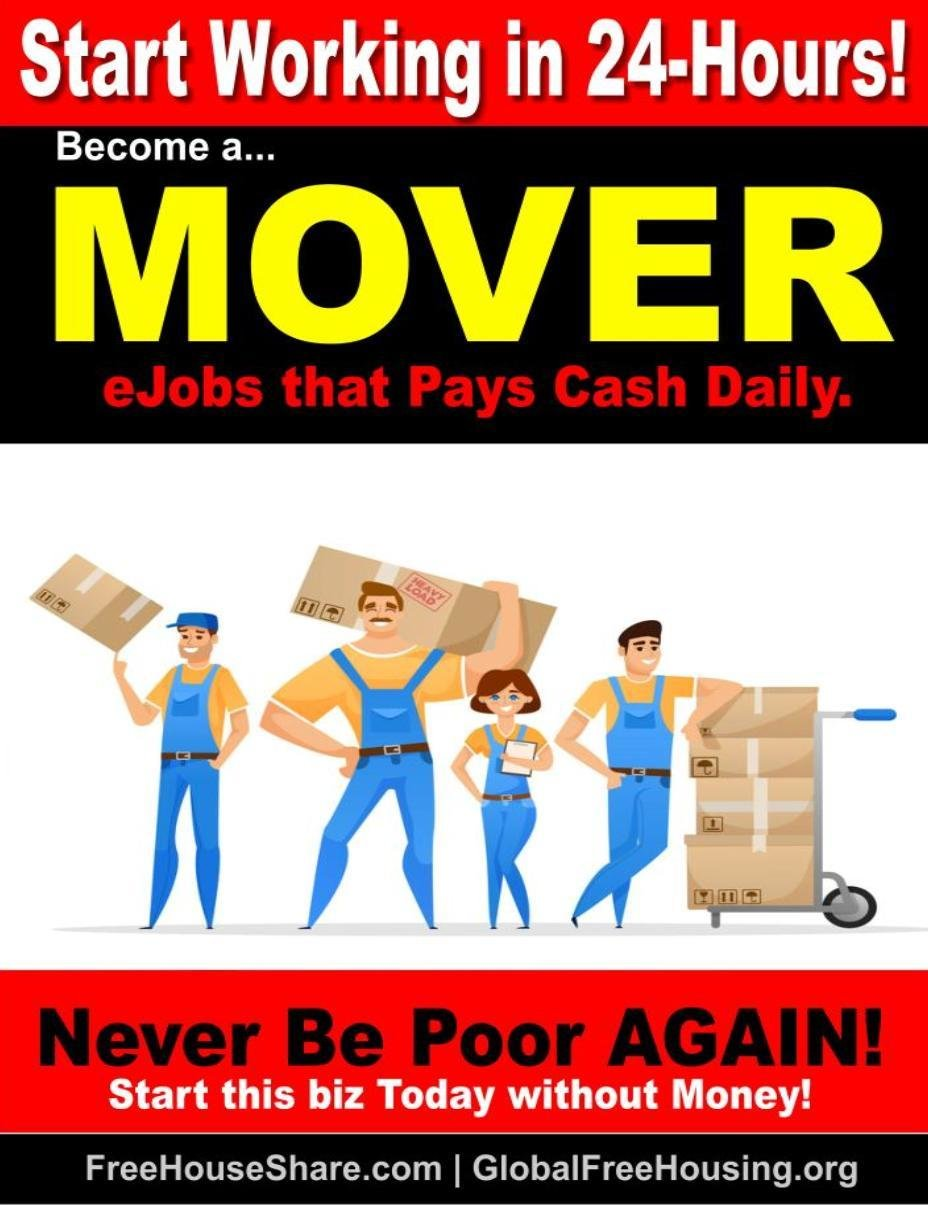 Start a Movers Service in 24-Hours | Make up to $1000 Daily in Cash! (No money or car needed to start!) 1 Million Downloads!