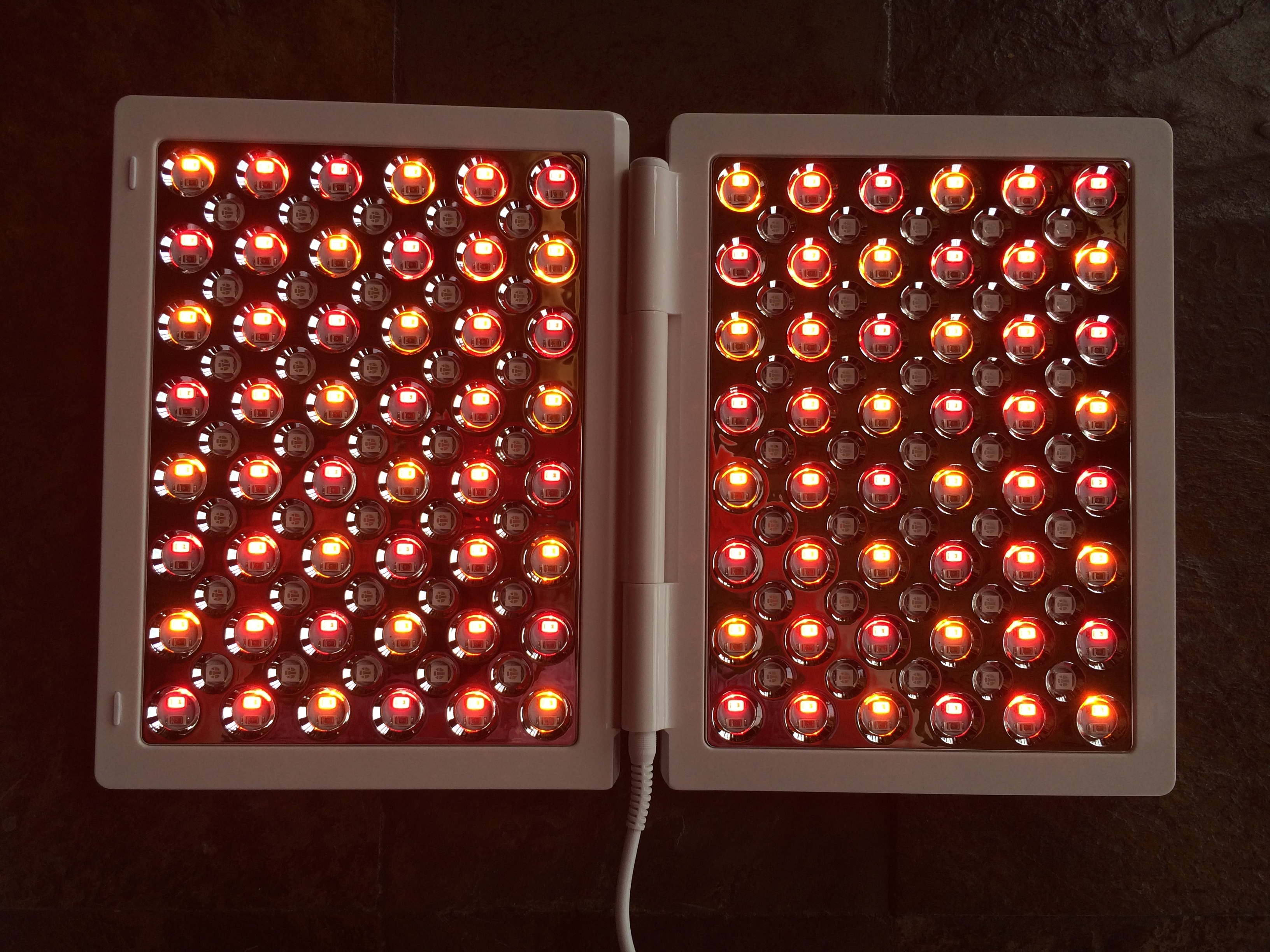 Red, Infrared, & Amber LED Setting