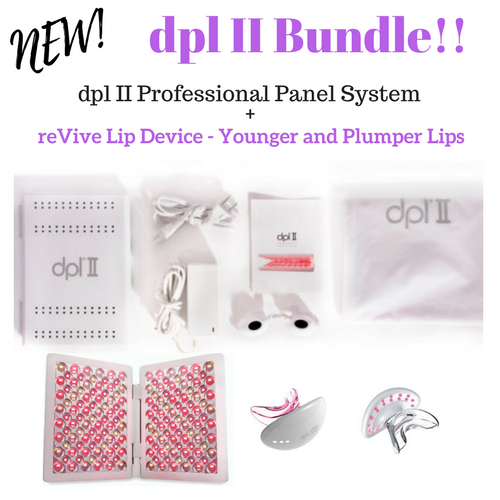 dpl II Bundle with reVive Lip Plumping Device 00166