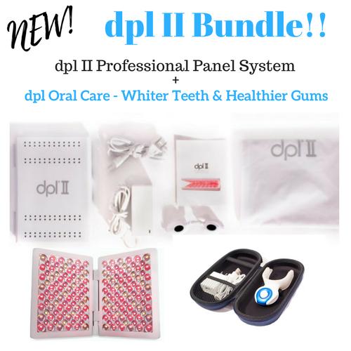 dpl II Bundle with dpl  Teeth Whitening Device 00167