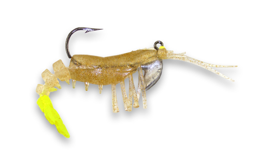 43  Gold Flake - Chartreuse Tail  (2/pk)