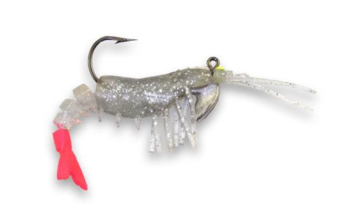 45  Silver Flake - Pink Tail  (2/pk)